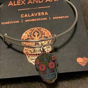 Alex and Ani Calavera infusion charm